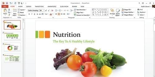 Microsoft Office 365 PowerPoint